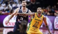 كأس العالم لكرة السلة: البرازيل تتخطى اليونان بفارق نقطة واحدة