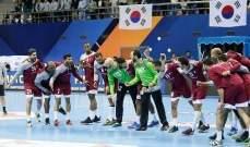 منتخب قطر يحرز لقب بطولة آسيا لكرة اليد