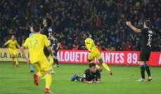 ليون ومارسيليا يواصلان المعاناة في الدوري وفوز مثير لبوردو على سانت اتيان