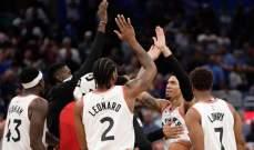 NBA: تورنتو يعزز صدارته شرقياً والكليبرز يتراجع غربياً