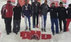 المرحلة الثالثة من الفا بطولة لبنان في تزلج العمق