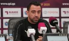 تشافي : بطولة كأس قطر مهمة للسد ومواجهة الريان بمثابة نهائي