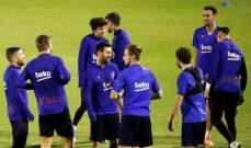 برشلونة يوقف جميع انشطته الرياضية لاجل غير مسمى