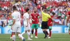 انطلاق الشوط الثاني من مباراة البرتغال والمغرب