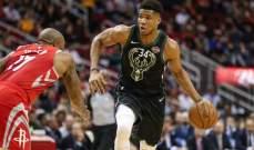 NBA: ميلووكي يستعيد الصدارة وكليفلاند يقبع في القاع شرقياً