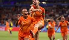 كأس العالم للسيدات: ارقام مميزة عن منتخب هولندا