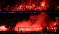 اليويفا يحقق مع باريس سان جيرمان بعد تصرفات جماهيره