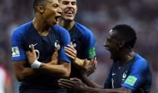 مبابي يحصد جائزة أفضل لاعب واعد في مونديال روسيا
