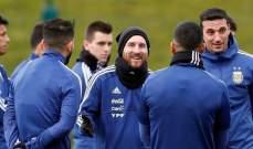سكالوني: أكثر ما يحلم به أي مدرب هو تدريب لاعب مثل ميسي