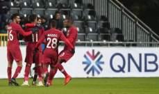 بعد الفوز على سويسرا قطر تتعادل مع ايسلندا
