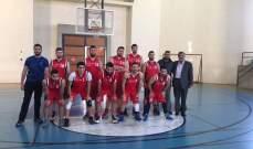 تصفيات الدور الاول من بطولة الجامعات اللبنانية في كرة السلة