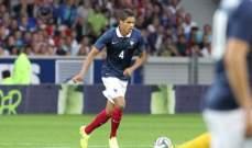 فاران يتحدث عن رحيل زيدان وهدفه مع منتخب فرنسا في كاس العالم 2018