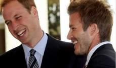 دايفيد بيكهام يوجه تهنئة الى العائلة الملكية البريطانية