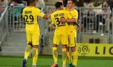 الليغ 1 : باريس سان جيرمان يواصل تألقه ويحقق فوزاً مثيراً على بوردو