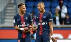 نيمار ومبابي يزينان تشكيلة باريس سان جيرمان امام ليفربول