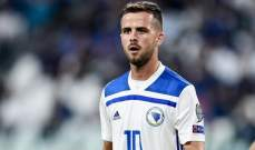 بيانيتش أفضل لاعب في البوسنة والهرسك