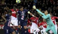 نافاس ولوكومت لعبا دورهما الفعال في مباراة موناكو وباريس سان جيرمان