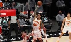 NBA: اتلانتا يفوز بفارق نقطة واحدة على واشنطن وتراي يونغ يسجل 36 نقطة