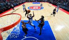 NBA : لوس أنجليس كليبرز يفوز على ديترويت بيستونز