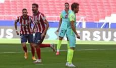 اتلتيكو مدريد يكتسح غرناطة بسداسية