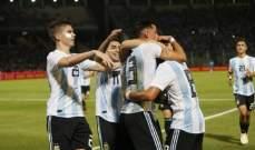 ودياً الارجنتين تفوز على المكسيك والتشيلي تسقط امام كوستا ريكا
