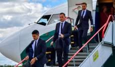 منتخب أستراليا يصل إلى روسيا