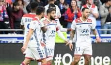 ليون يستعيد نغمة الانتصارات على حساب مونبيليه