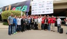 استقبال حاشد لأبطال غرب آسيا لكرة السلة