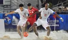 تصريحات مدرب المنتخب الياباني بعد التأهل لنهائي آسيا للشاطئية