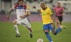 نيمار أفضل لاعب في مباراة البرازيل وتشيلي