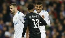 باريس سان جرمان يريد ادخال كاسيميرو في صفقة انتقال نيمار