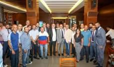 مصرف لبنان كرّم اتحاد السلة والحكام وسبورتس مانيا