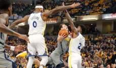 NBA : ووريورز يفوز على بايسرز بفارق 32 نقطة