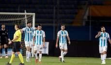 الدوري المصري : خريبين يقود بيراميدز لفوز صعب على المقاولون العرب