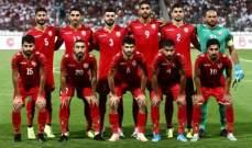 منتخب البحرين يصل معسكر دبي ويلاقي منتخب لبنان 12 الجاري