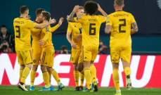 بلجيكا تقسو على روسيا وويلز تسقط أذربيجان بنصف ساعة وفوز معنوي لكازاخستان