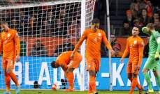 اصابة حارس برشلونة سيليسن في تدريبات هولندا
