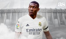 ألابا سعيد بتأكيد انتقاله الى ريال مدريد