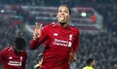 ريدناب: فان دايك هو المدافع الأفضل بتاريخ الدوري الممتاز