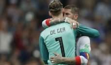 راموس يدعم دي خيا بعد مباراة البرتغال