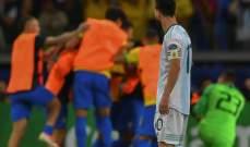 الأرجنتين تتقدم باعتراض على التحكيم في مباراة البرازيل في كوبا اميركا
