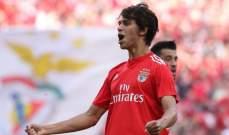 بنفيكا ينفي رحيل جوهرته البرتغالية