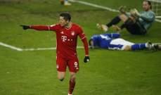 ليفاندوفسكي يدخل نادي الـ 500 هدف