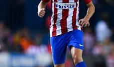 اتلتيكو مدريد يستعيد غودين قبل لقاء سيلتا فيغو