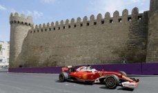الفورمولا 1 تجدد عقد حلبة أذربيجان