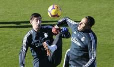 كورتوا  جاهز ليعود الى تشكيلة ريال مدريد