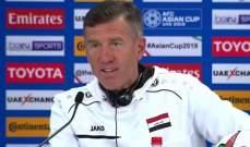 مدرب العراق يطالب بمساندة الجماهير في بطولة الصداقة