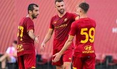 انتصار كاسح وب 10 اهداف في اولى مباريات روما بقيادة مورينيو