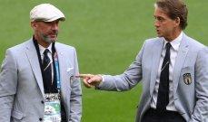 """كأس أوروبا:مانشيني وفيالي """"توأما التهديف"""" يبحثان عن مجد ويمبلي الضائع"""