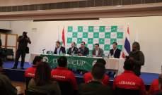 خاص:مشاهدات من المؤتمر الصحفي لرئيس الاتحاد اللبناني للتنس أوليفر فيصل